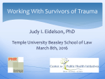 Working With Survivors of Trauma
