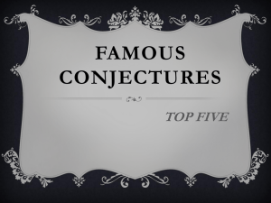 5 Famous Math Conjectures