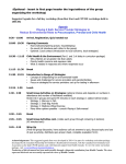 workshop agenda - full day