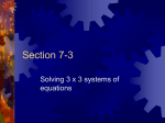 Section 7-3