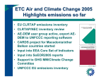 ETC Air and Climate Change 2005