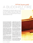 a buddhist fire ritual in