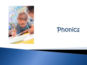 Phonics - Elm Park Primary School