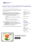 Good Food is Good Medicine Symposium