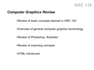 Computer Graphics review