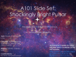 Draft A101 Slide Set #1 - Astronomical Society of the Pacific