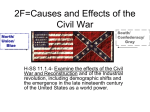 Causes and Effects of the Civil War