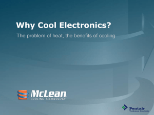 Why Cool Electronics? - Barr