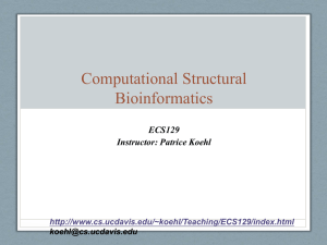 Computational (Structural) Biology