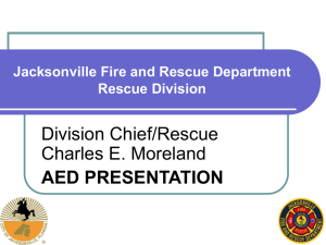 Jacksonville Fire and Rescue Department Rescue Division