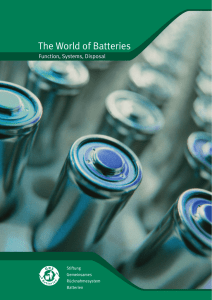 The World of Batteries - GRS