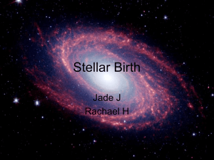Stellar Birth - ahsastronomy