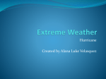 Extreme Weather Hurricane