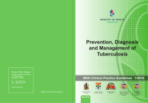 Prevention, Diagnosis and Management of Tuberculosis