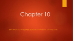 Chapter 10 - Emporia State University Social Deviance 2014