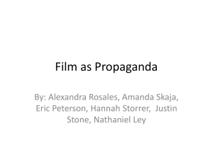 Film as Propaganda