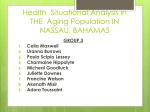 Health Situational Analysis in THE Aging Population IN NASSAU