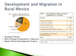 Rural Migration in Mexico