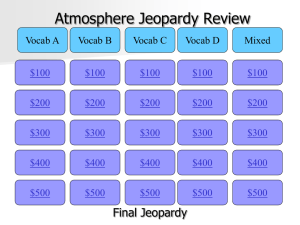 Atmosphere Review - 6th Grade earth and space Science​mrs