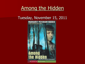 Among the Hidden