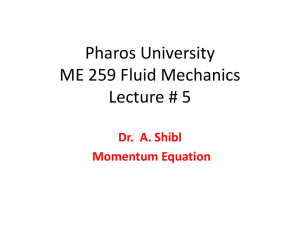 Pharos University Fluid Mechanics For Electrical Students