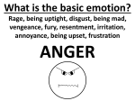 What is the basic emotion?