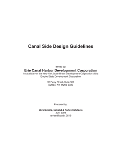 Canal Side Design Guidelines
