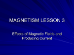 MAGNETISM LESSON 3