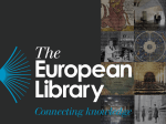 Track 1 - The European Library