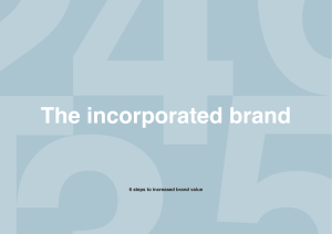 6 steps to increased brand value