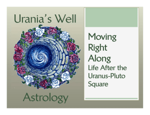 Urania`s Well Astrology