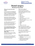 Dental surgery - Children`s Minnesota