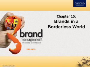 Managing brands across boundaries