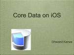 Presentation-Core Data