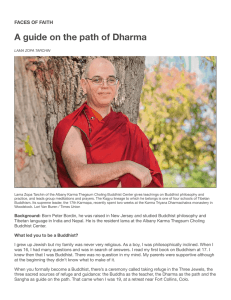 A guide on the path of Dharma - Albany Times Union