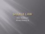Sharia Law in Iran