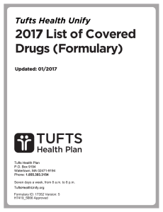 2017 List of Covered Drugs (Formulary)