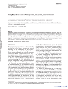 Pemphigoid diseases: Pathogenesis, diagnosis, and treatment