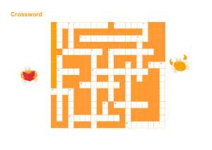 Crossword - Cancer Research UK
