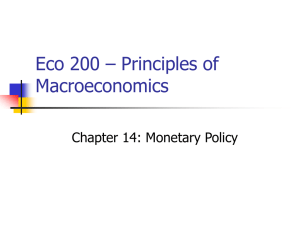 Eco 200 – Principles of Macroeconomics