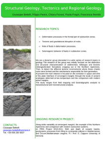 Structural Geology, Tectonics and Regional Geology