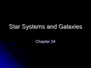 15.4 Star Systems and Galaxies