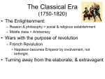 The Classical Era (1750