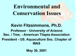 Environmental and Conservation