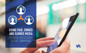 using paid, owned and earned media