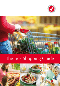 The Tick Shopping Guide