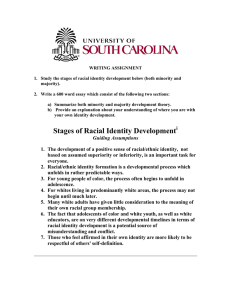 Stages of Racial Identity Development