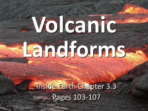 Inside Earth 3.3 Volcanic Landforms