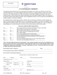CT Contrast Consent Form - HCA VA Outpatient Imaging