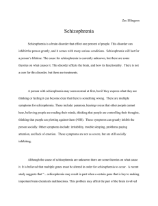 Schizophrenia - WordPress.com